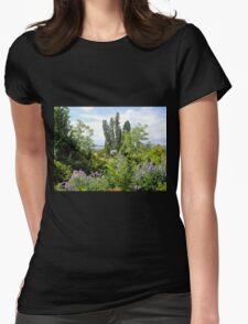Rural Garden Womens Fitted T-Shirt