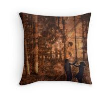 Hänsel und Gretel Throw Pillow
