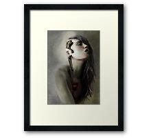 Thoughts' slave Framed Print