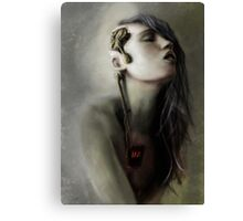 Thoughts' slave Canvas Print