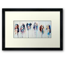 The Changing Face of Now No.1 Framed Print