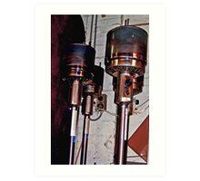 Dalek Heaters... Art Print