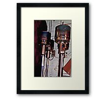 Dalek Heaters... Framed Print