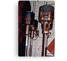 Dalek Heaters... Canvas Print