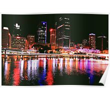 City of Light - Brisbane Poster