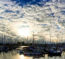 Grimsby Marina by Paul Thompson Photography