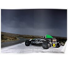 Ariel Atom in the snow .... Poster