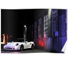 Porsche 997 Turbo Cabrio .... Poster
