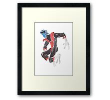 Night crawler Framed Print