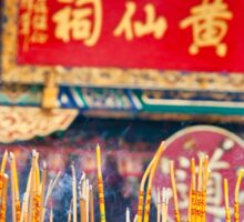 Wong Tai Sin Temple 2 Sticker