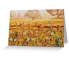 Prince Of Wales Wild Flower Fields Greeting Card