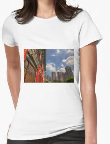 Wong Tai Sin Temple Womens Fitted T-Shirt