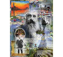 claude monet Photographic Print