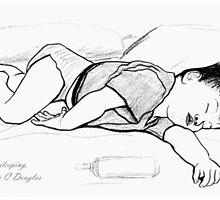 Zackary Sleeping by Ian Charles Douglas