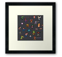 Champions of the NES! Framed Print