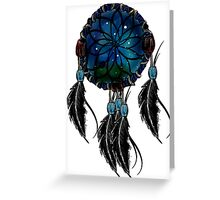 Dream Catcher (Blue) Greeting Card