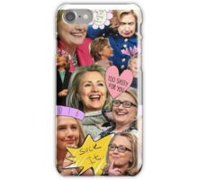 Hillary Clinton Collage iPhone Case/Skin