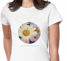 Methinks it's time for an adventure! Womens Fitted T-Shirt
