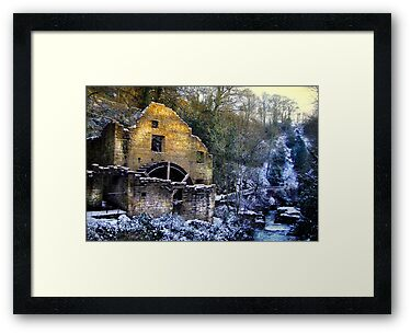 Old Water Mill by Bootkneck