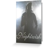 Nightwish in Action Greeting Card