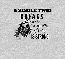 Chief Tecumseh Quote - Strength Unisex T-Shirt