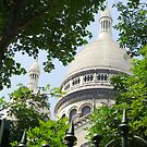 Sacre Coeur in Paris by retouch