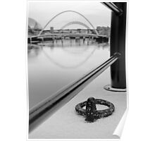 Tyne Bridges Framed Poster