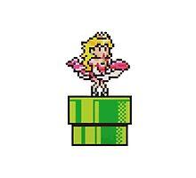 Princess Peach Monroe Mario by Heather95