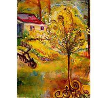Hannah's Magical Wish Granting Tree Photographic Print