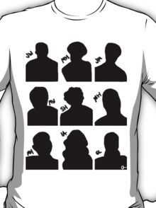 Sherlock Cast T-Shirt