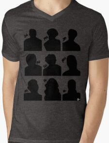 Sherlock Cast Mens V-Neck T-Shirt
