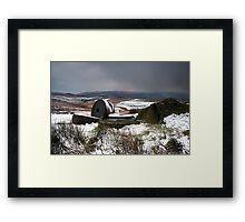 Passing Snowstorm Framed Print