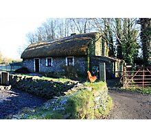 Irish thatched cottage Photographic Print