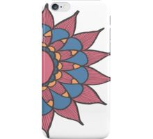 Abstract Sunflower iPhone Case/Skin