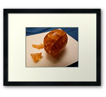 PRIZE Jeopardy. Guess what it is? SOLVED by Soxy Fleming Framed Print