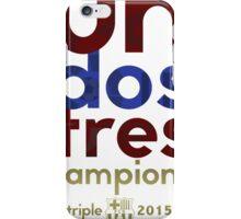 Barcelona: Treble Winners Shirt Alternate iPhone Case/Skin