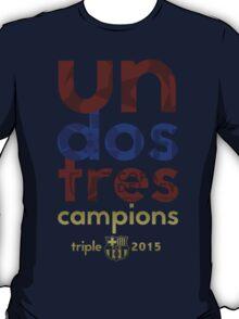 Barcelona: Treble Winners Shirt Alternate T-Shirt
