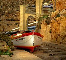 W Zurrieq Malta Slipway by Edwin  Catania