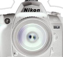 Welcome to the Dark Side - Nikon DSLR Users Group Shirt - Nikon DSLR Sticker