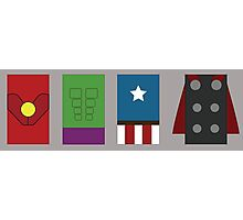 The Rectangle Avengers Photographic Print