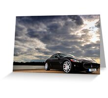 Maserati Gran Turismo .... Greeting Card