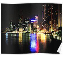 Waterfront City - Brisbane Poster