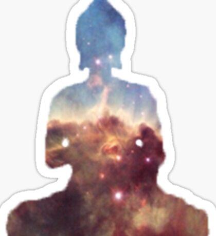 Galactic Buddha Sticker