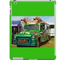 Horney Bus iPad Case/Skin