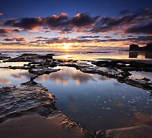 Sunset - Maori Bay by Chris Gin