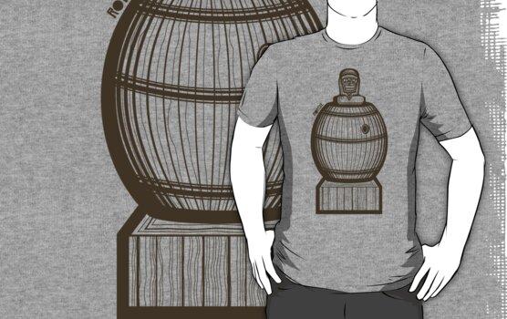 Barrelman Shirt (Version 2) by Ryan Yasutake