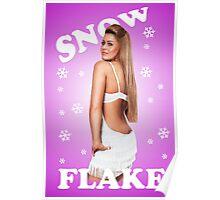 Snow Flake Poster