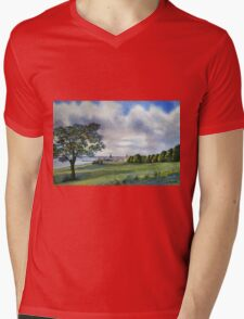A Stroll into Town Mens V-Neck T-Shirt
