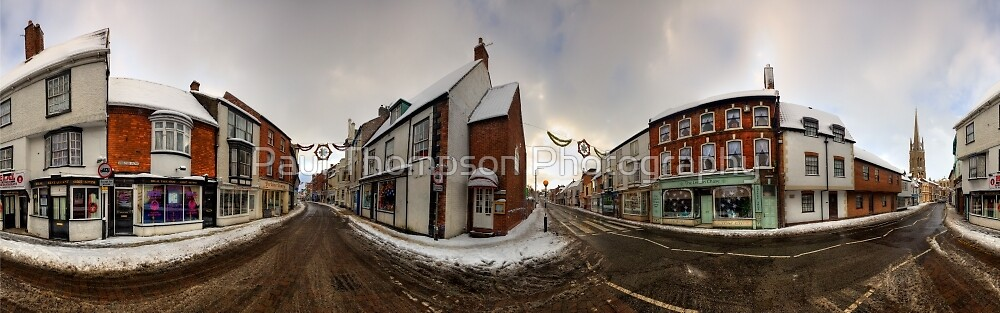 Louth Town Panorama by Paul Thompson Photography