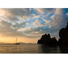 Thailand Sunset Photographic Print